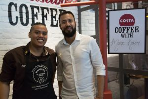 Home Brew: Coffee with Local Poet Marc Nair and Champion Barista Hisyam