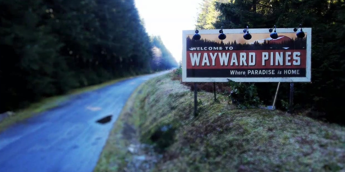 Wayward Pines Review Header