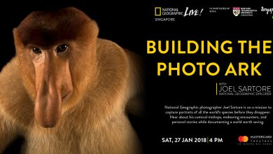 "National Geographic LIVE! 2018 Presents ""Building the Photo Ark"" with Nat Geo Fellow, Joel Sartore"