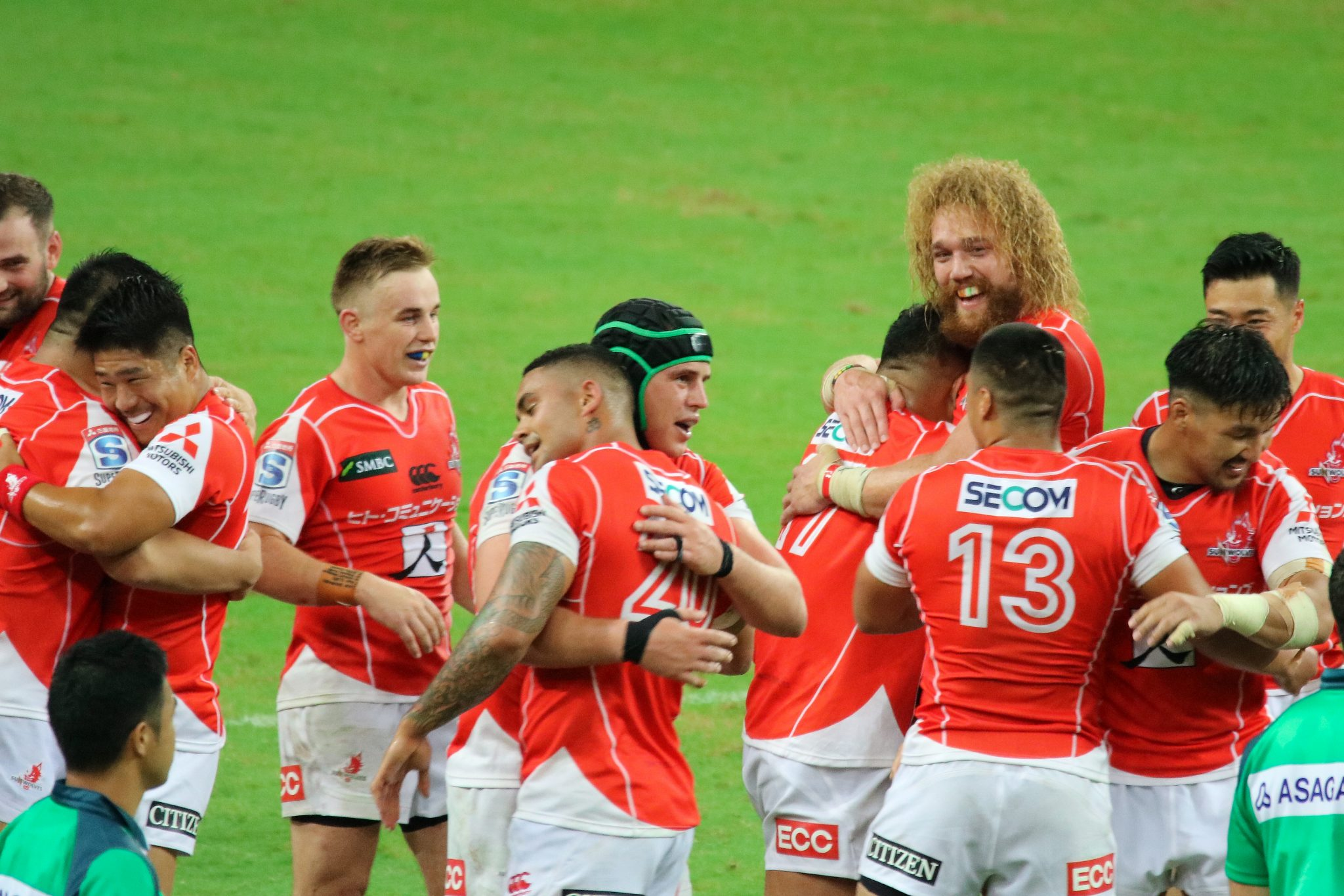 Rugby: Sunwolves vs Bulls - MP66