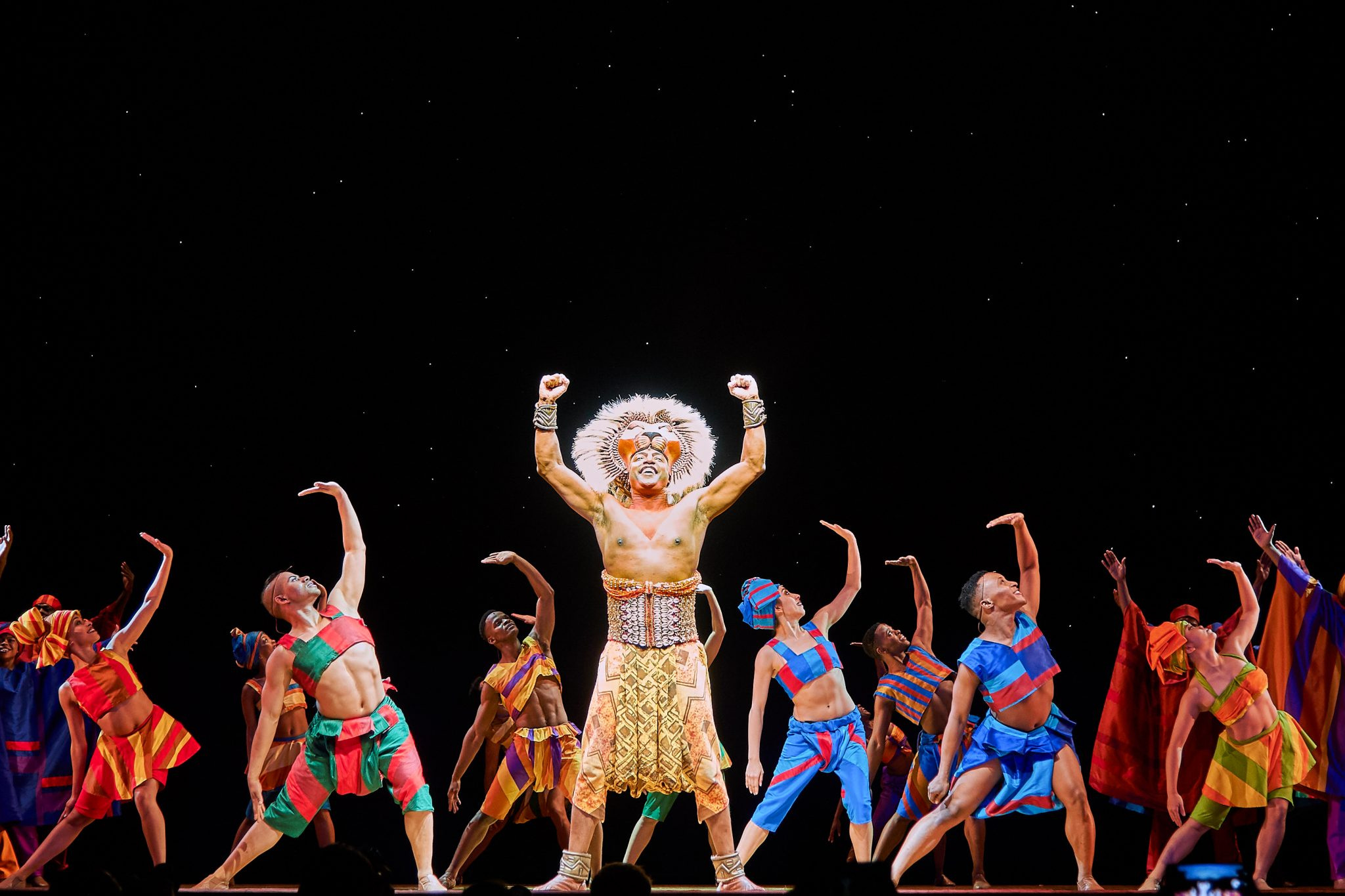 Lion King The Musical: Lion Musical Number