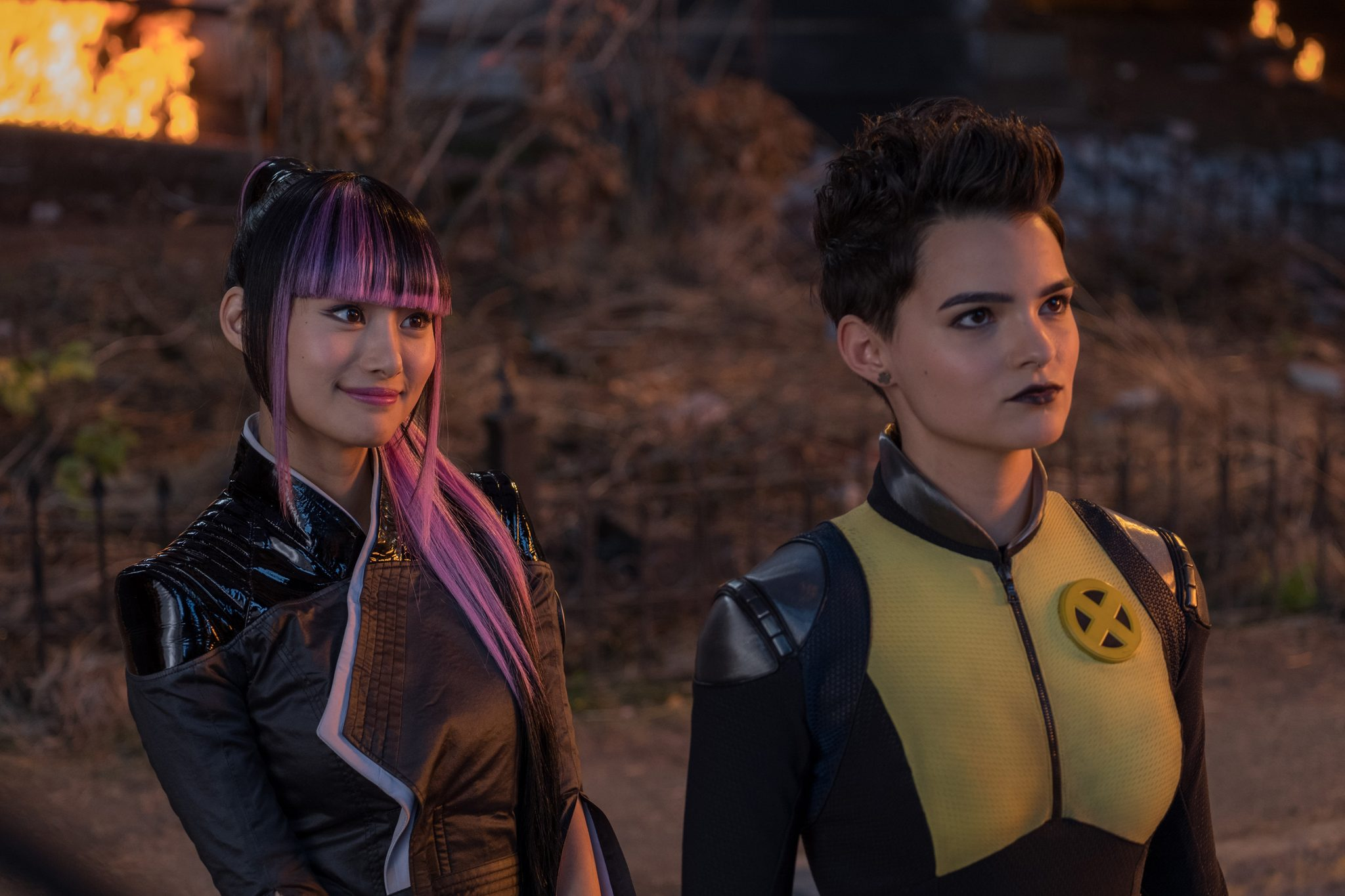 Deadpool 2: Shioli Kutsuna and Brianna Hildebrand
