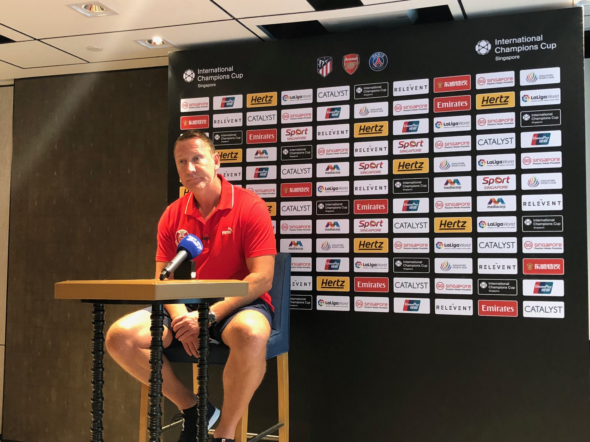 ICC Singapore: Former Arsenal Player Ray Parlour