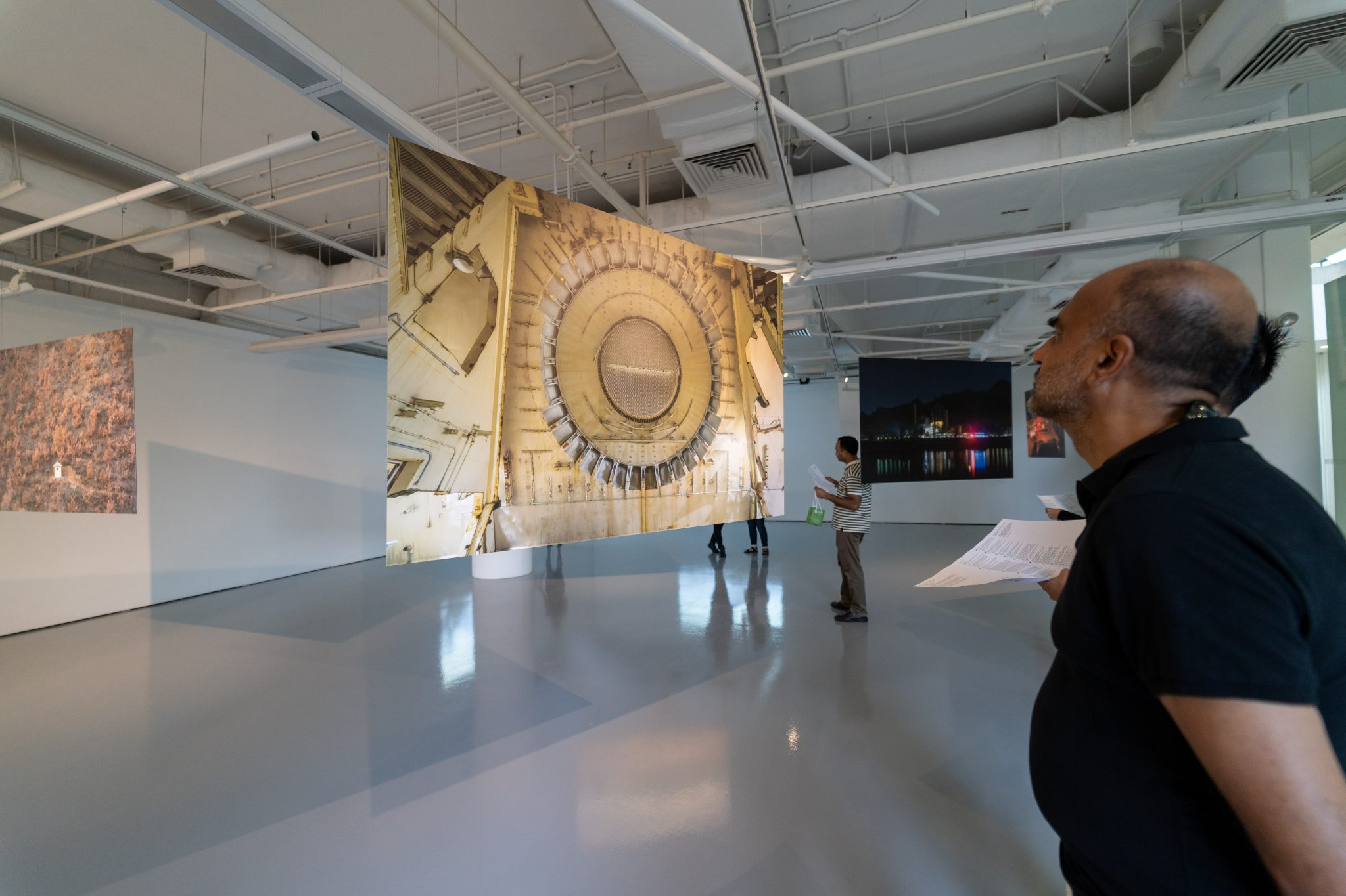 The Nuclear Landscape, Sim Chi Yin: Guest View