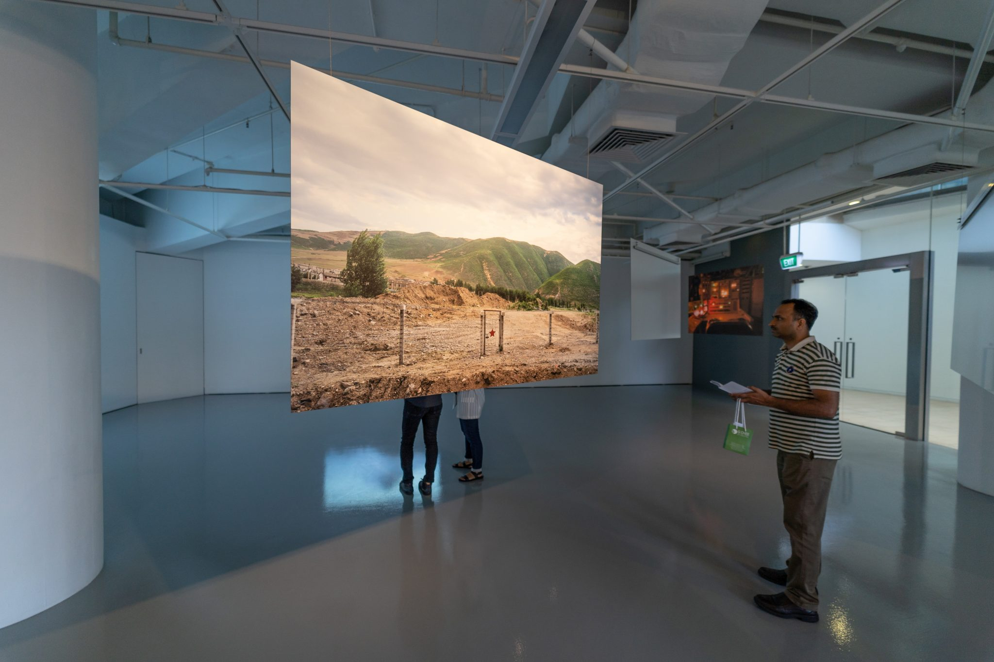 The Nuclear Landscape, Sim Chi Yin: Guest View 2