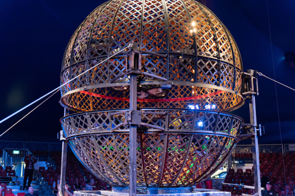 The Great Moscow Circus: Globe of Death