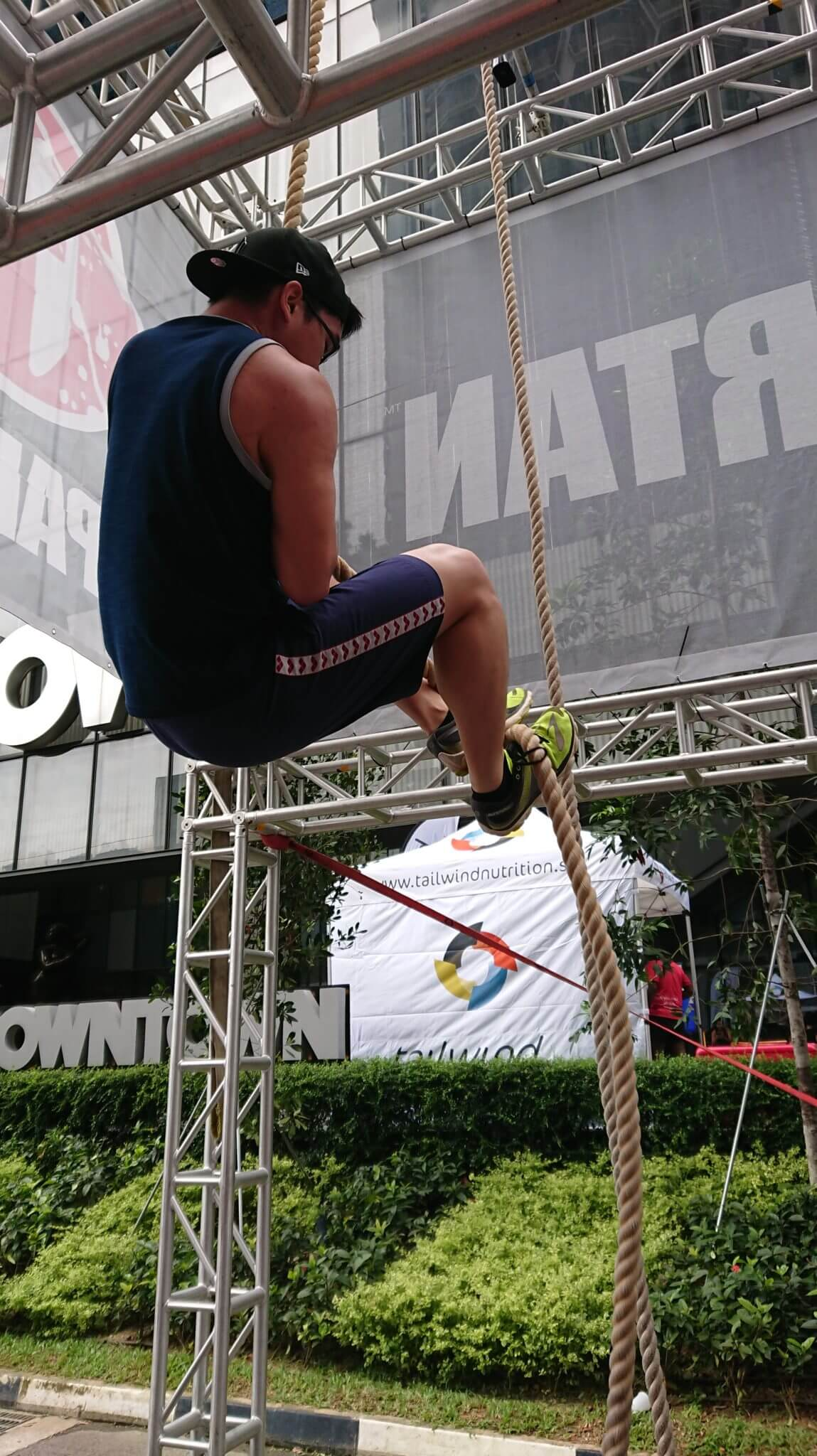 Spartan: Rope Obstacle