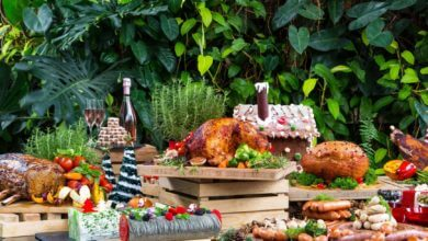 Christmas food: Feature picture