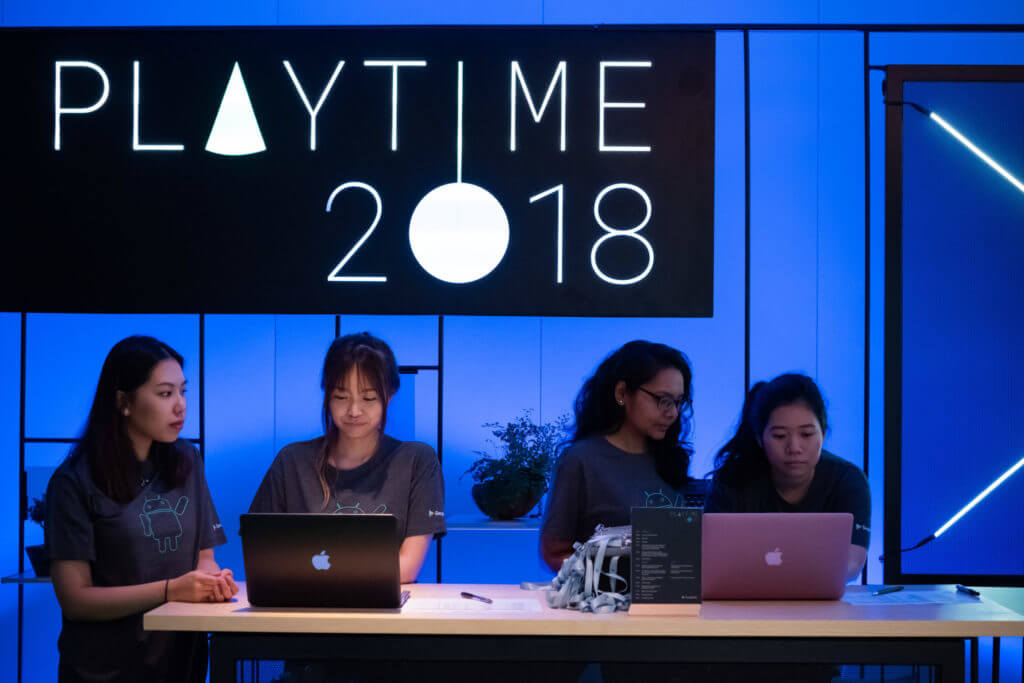 Google Bootcamp: Playtime