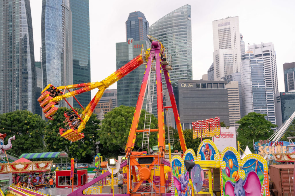 Prudential Marina Bay Carnival: Freak Out