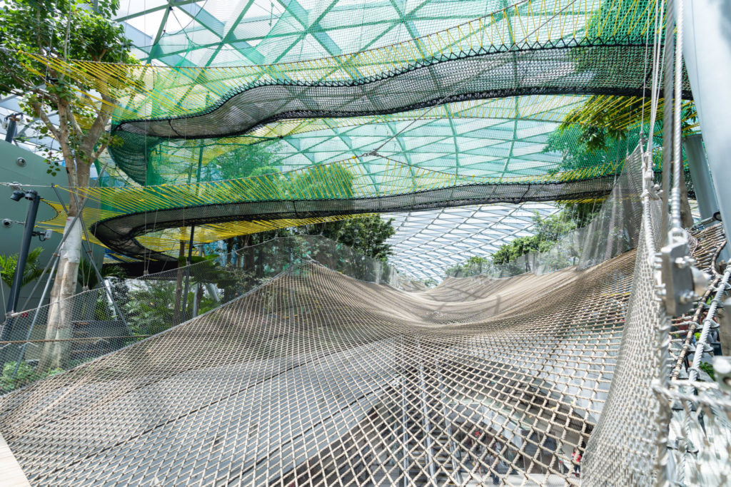 Jewel Changi: Walking Nets