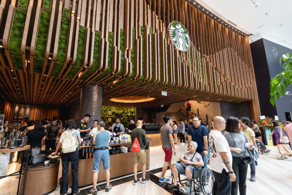 Jewel Changi - Starbucks