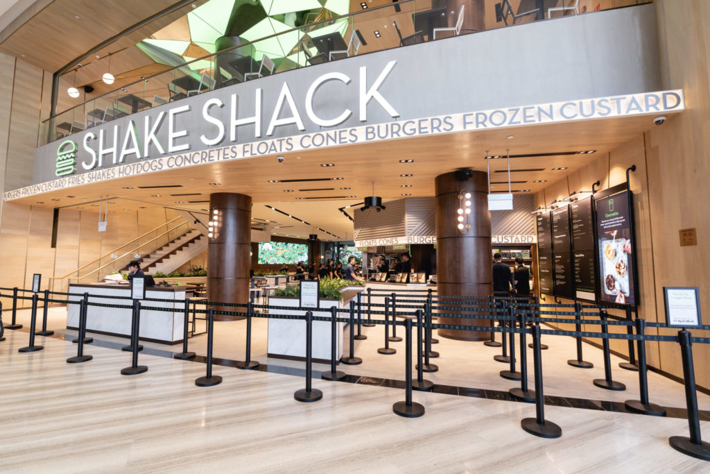 Jewel Changi: Shake Shack