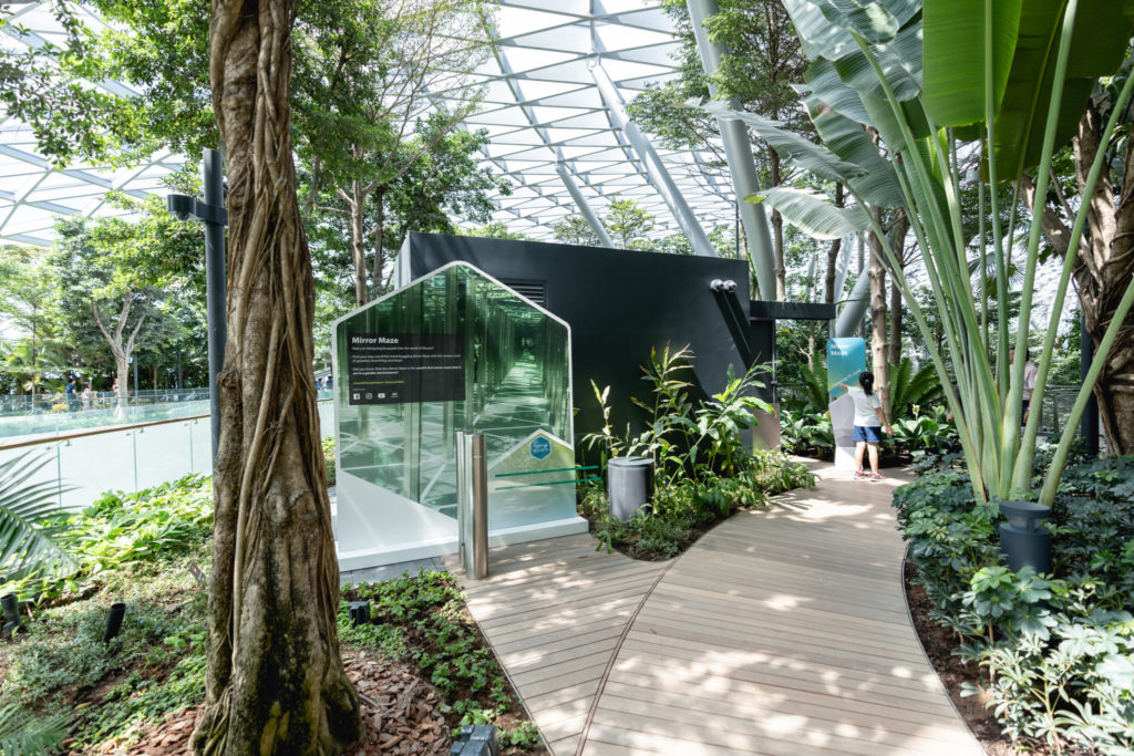 Jewel Changi - Mirror maze