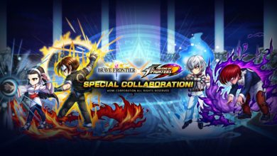 Brave Frontier X KOF Feature image