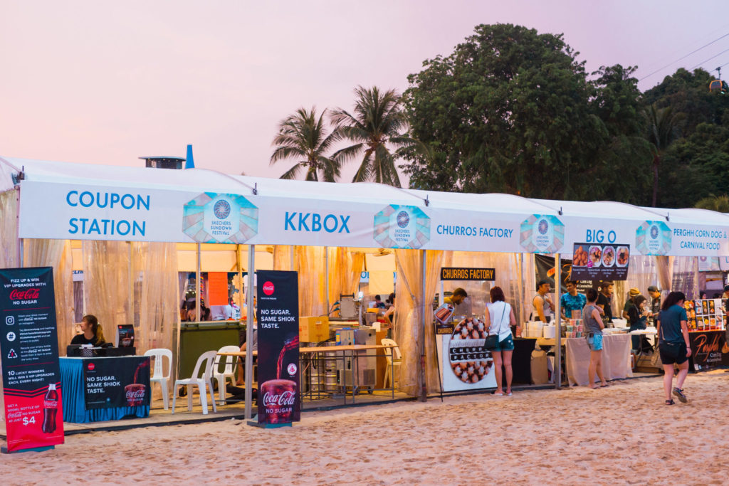 Skechers Sundown 2019: Food Kiosks