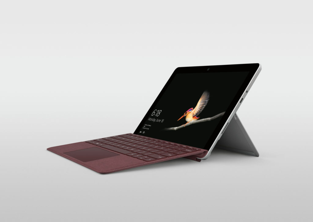 Microsoft Surface review - side view