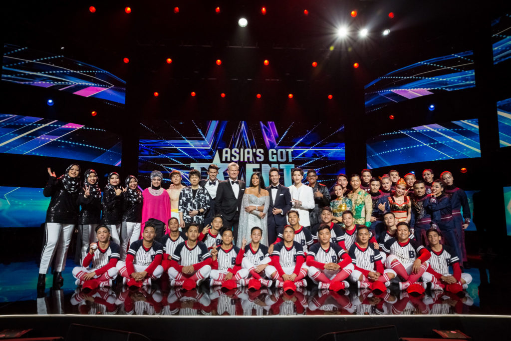 AGT finalists - group shot