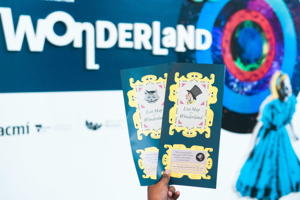 Wonderland exhibition - maps