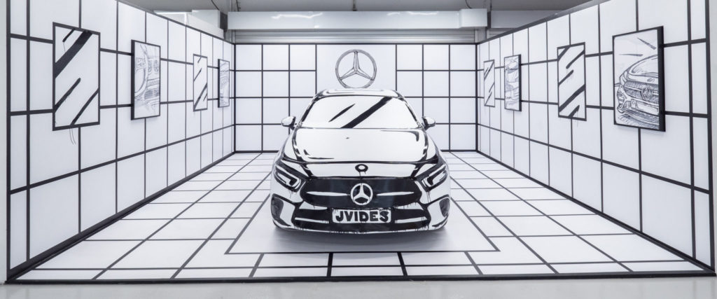 Culture Cartel 2018 - mercedes benz graffiti