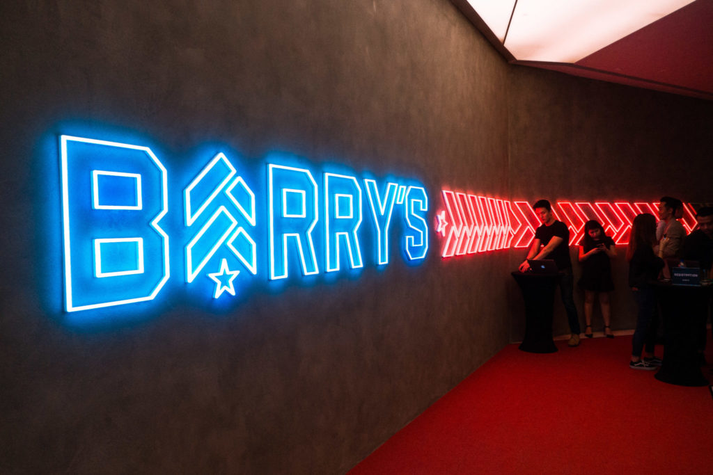 Barry's Bootcamp: Gym Entrance