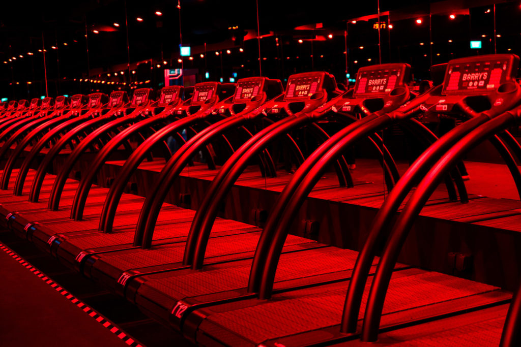 Barry's Bootcamp: Treadmills