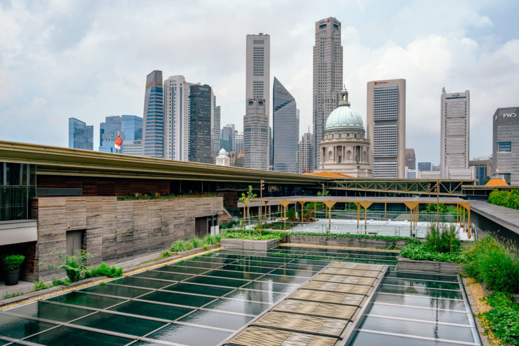 SEA State 9: National Gallery Roof Garden