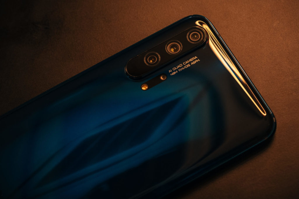 Honor 20: Back view
