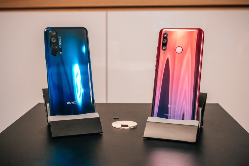 First look at the new HONOR 20 series