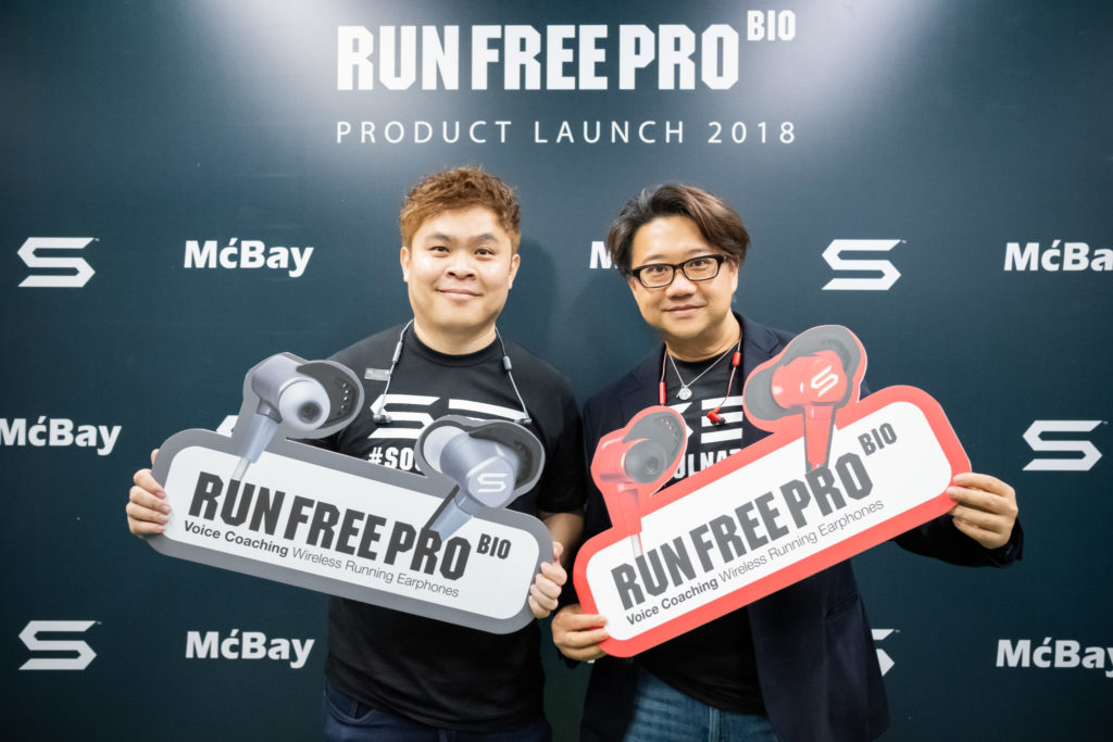 run free pro bio - photo op