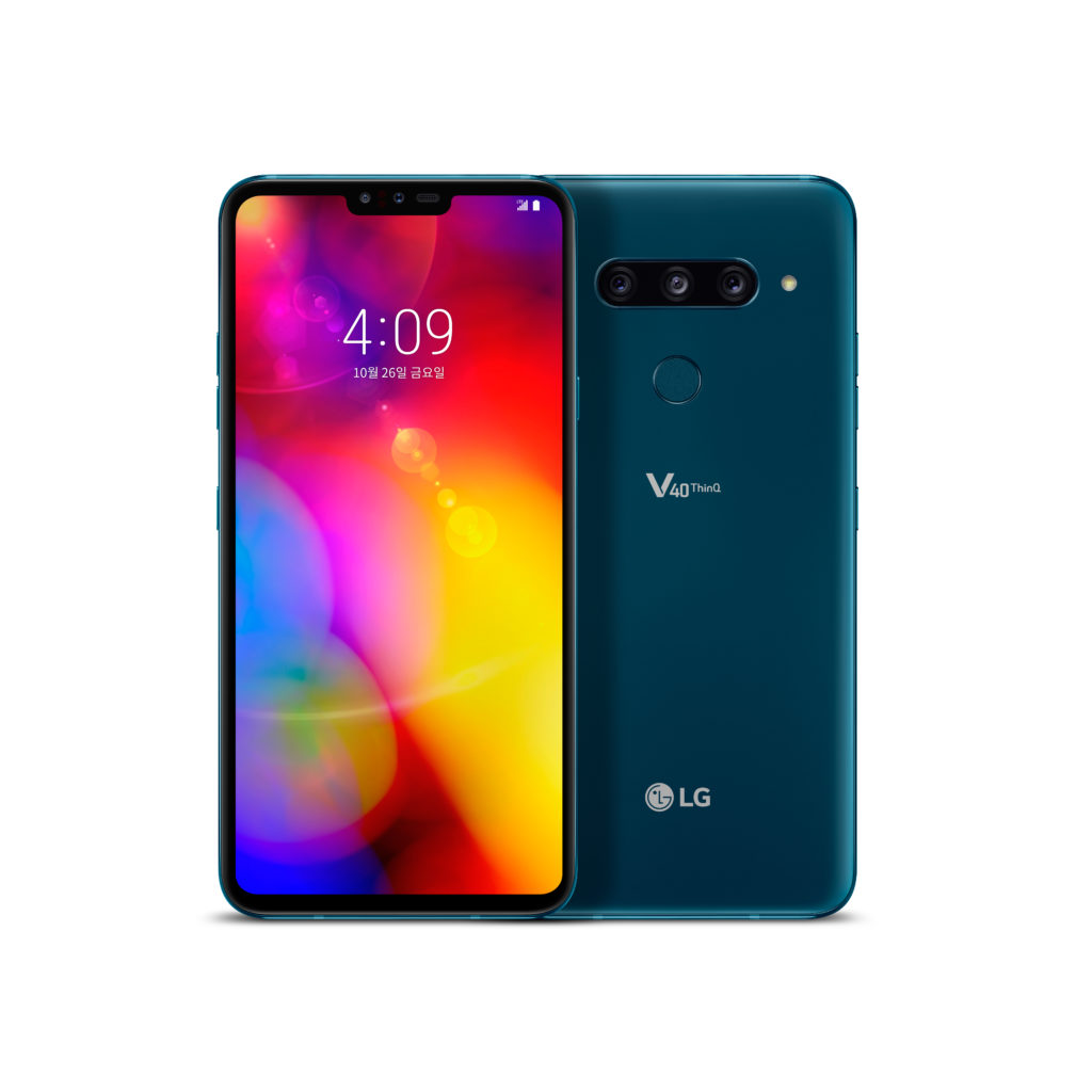 LG V40 ThinQ - camera