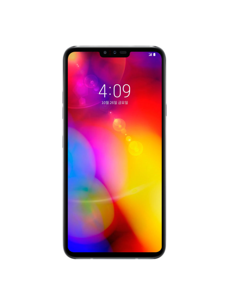 LG V40 ThinQ - screen