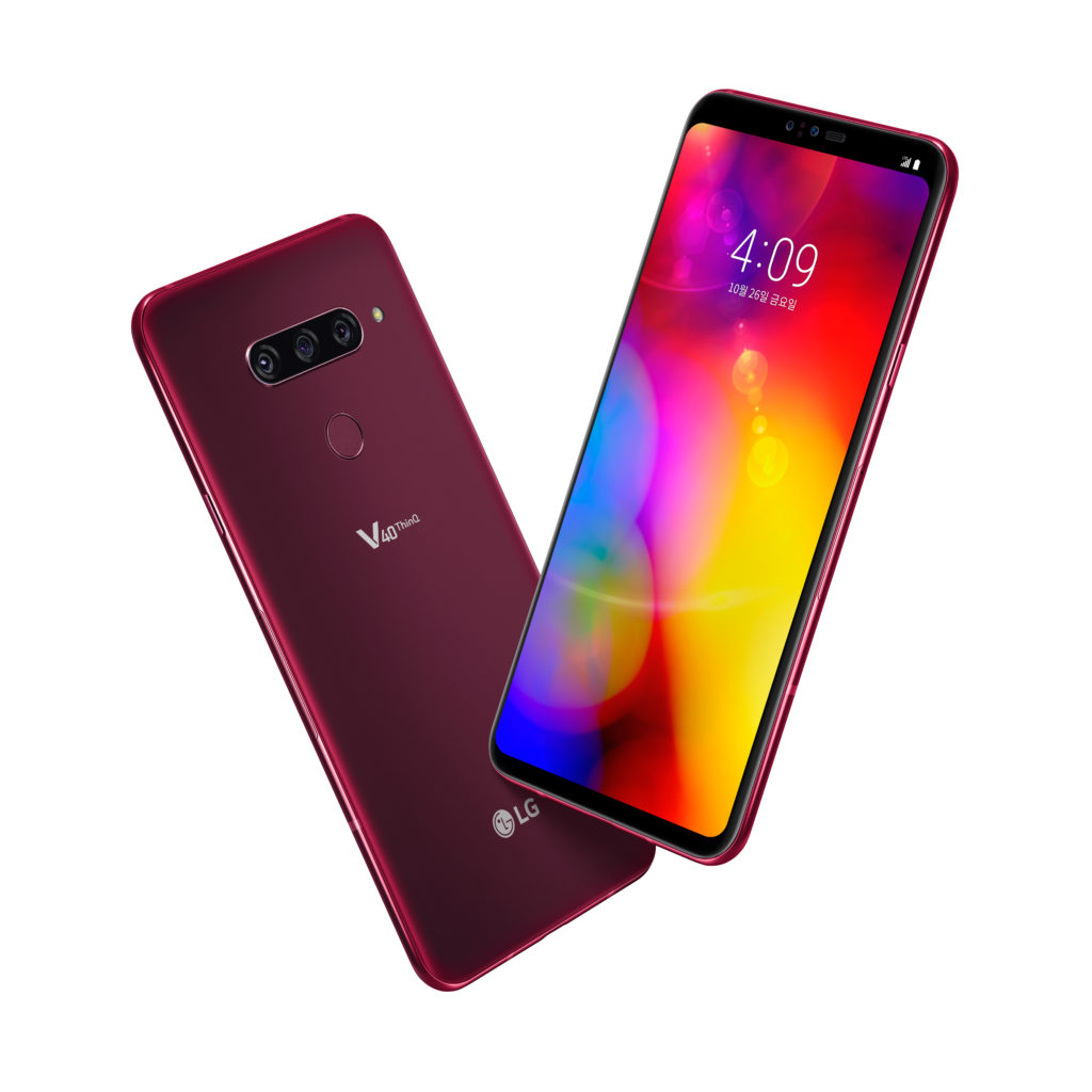 LG V40 ThinQ - thin