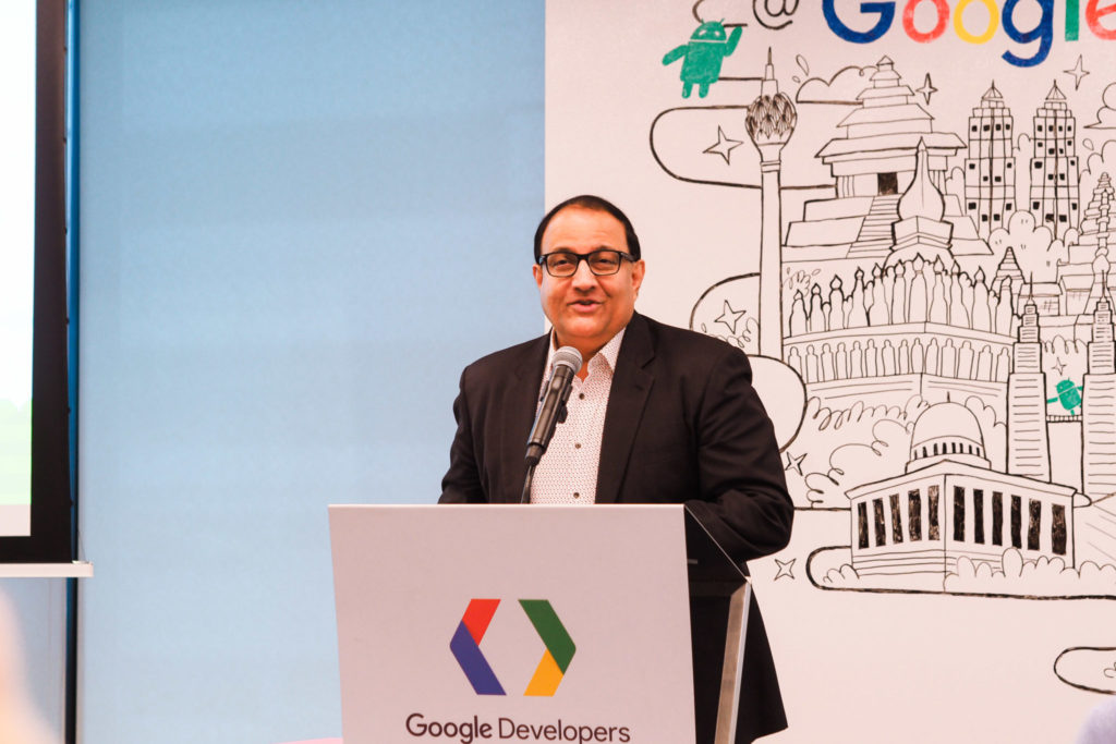 Google Developer Space - s iswaran