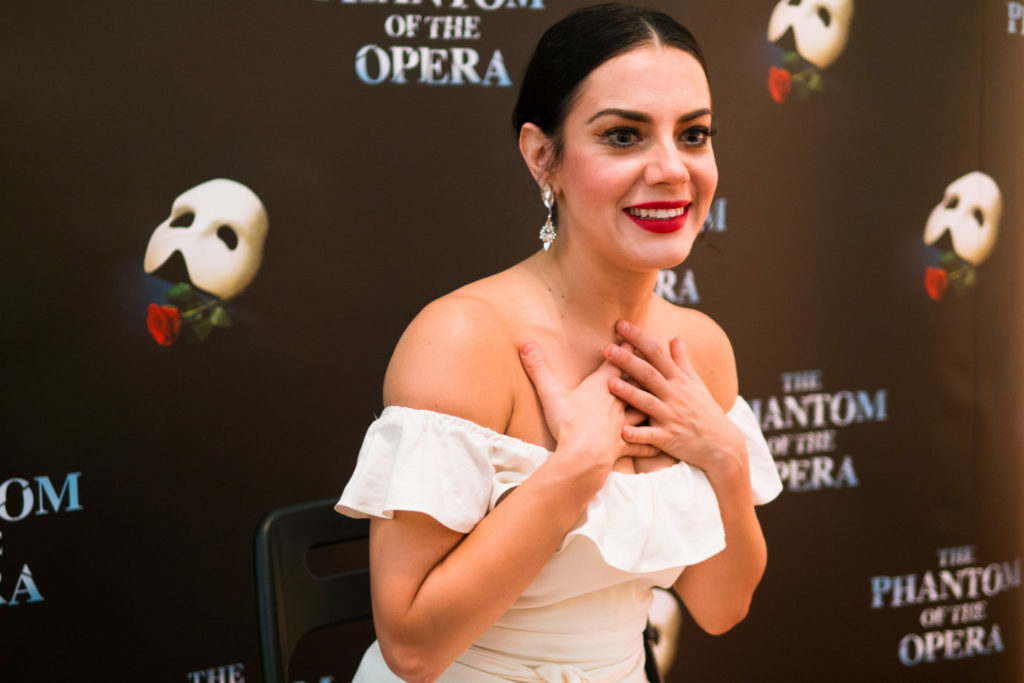 phantom of the opera review - cast interview