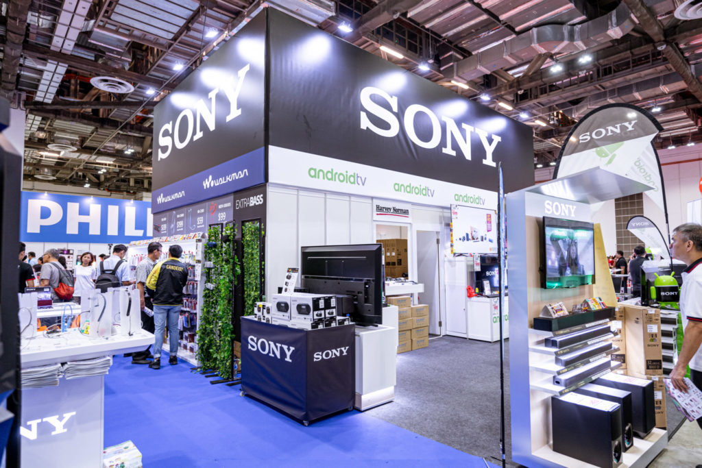 PC Show 2019 Sony Booth