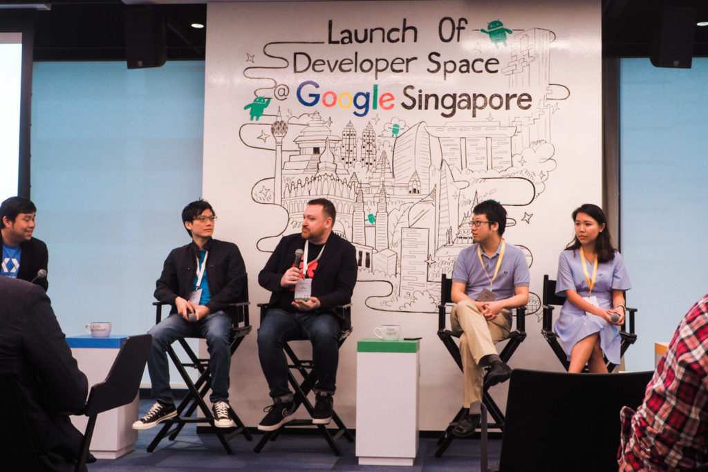 Google Developer Space - panel