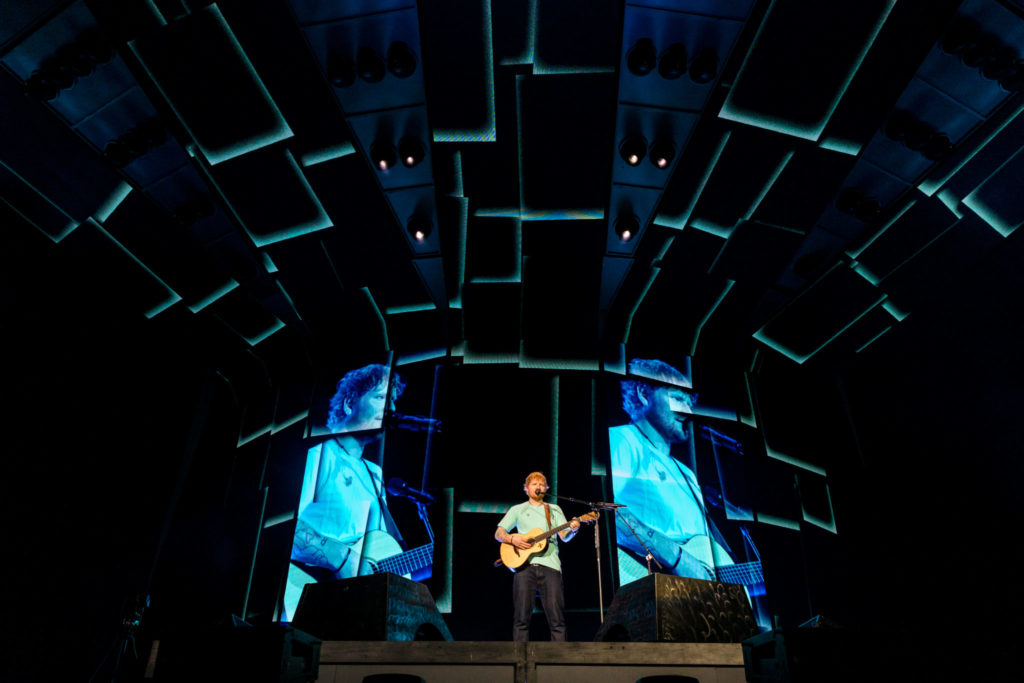 Ed Sheeran ends strong with fan favorites in his encore