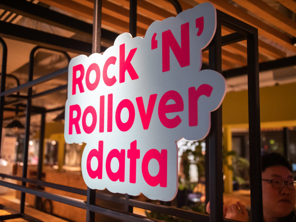 giga! Telco Launch Event - Rock 'N' Rollover Data