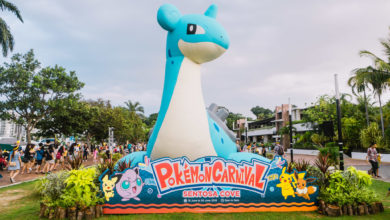 Pokemon Carnival - Lapras inflatable