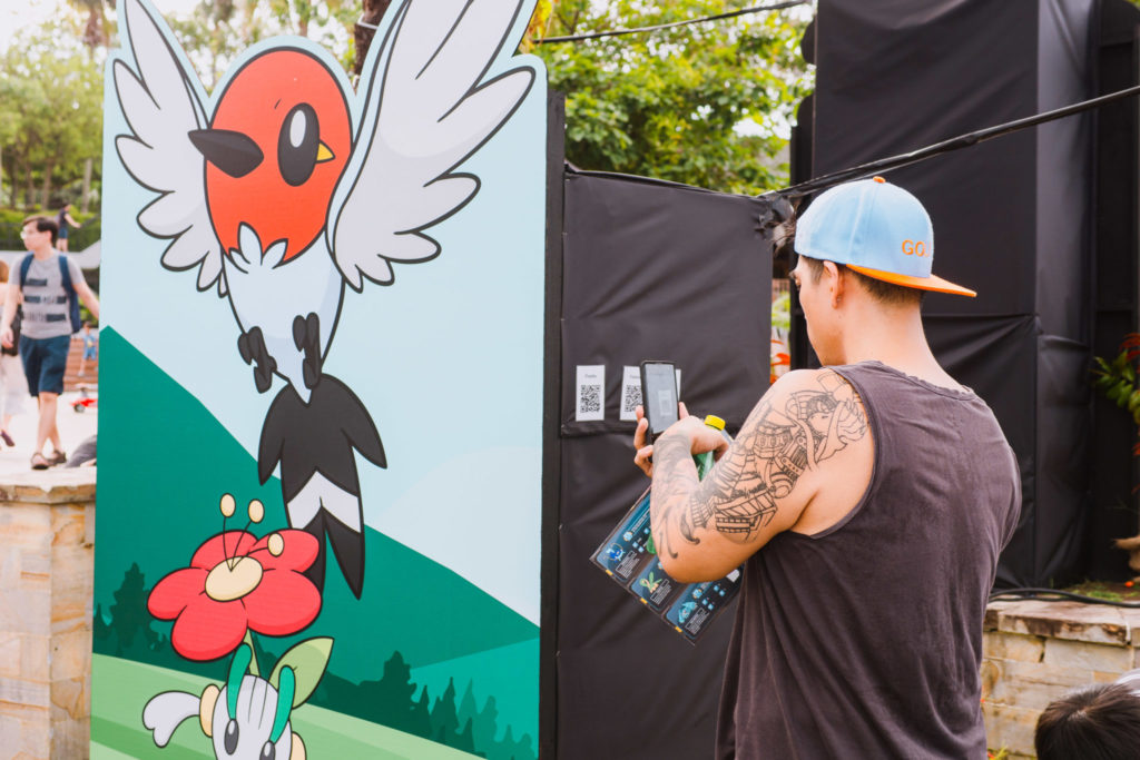 Pokemon Carnival - Pokemon Advernture QR codes