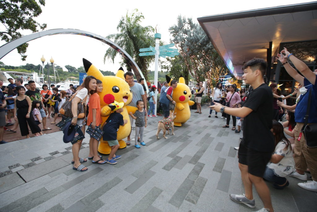Pokemon Carnival - Pikachu Meet and Greet