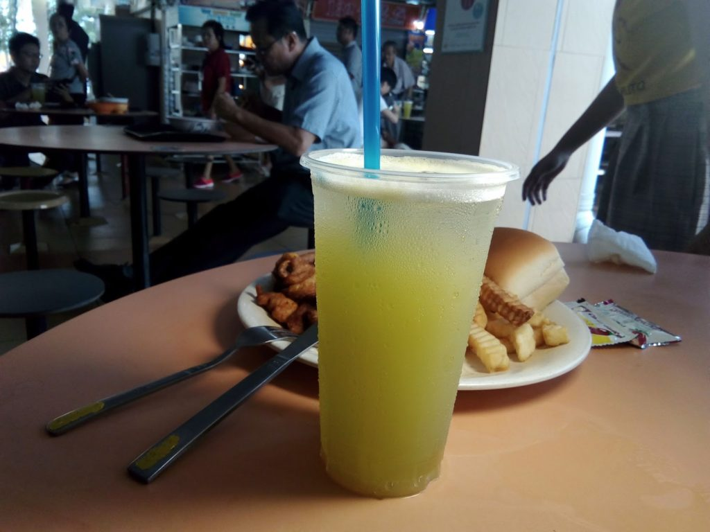 Old Airport Road Food Centre - sugar cane juice