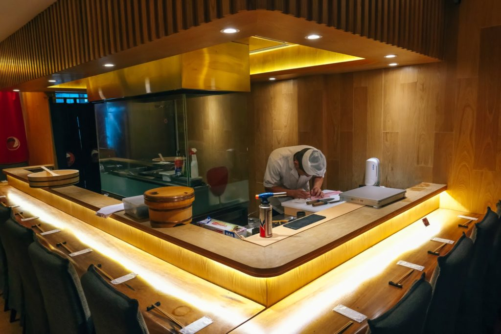 jimoto dining - interior