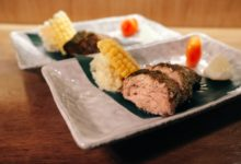 jimoto dining - grilled tuna head slices