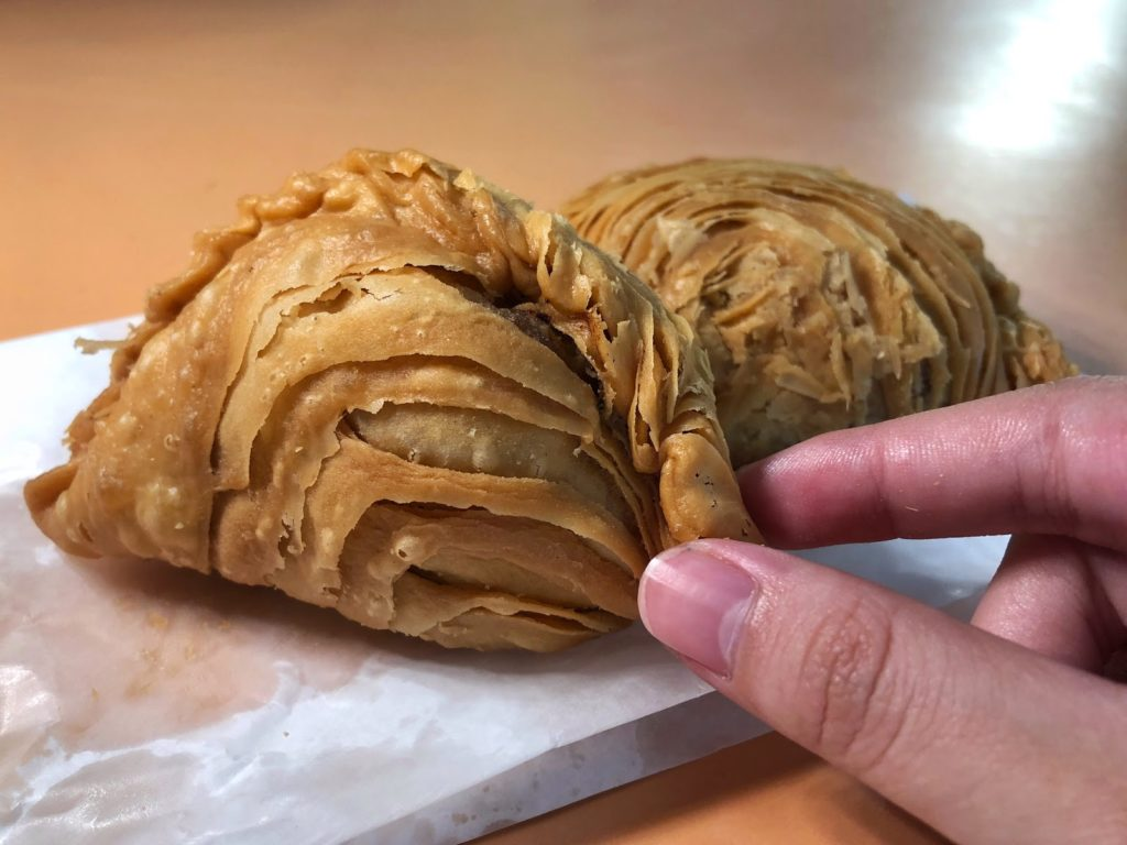Old Airport Road Food Centre - curry puffs