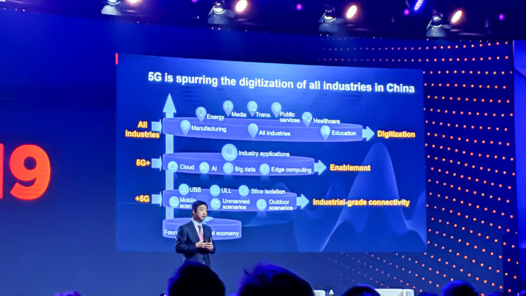 MWC19: 5G in China