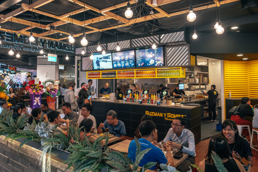 Funan shopping guide - Guzman Y Gomez