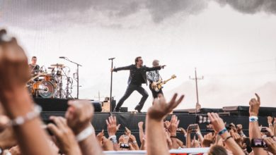 U2 - Joshua Tree tour live (audience view)
