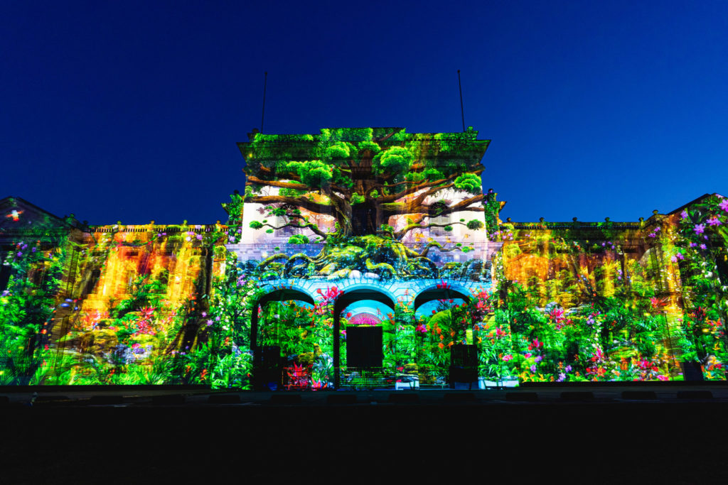 Singapore Night Festival: Facade